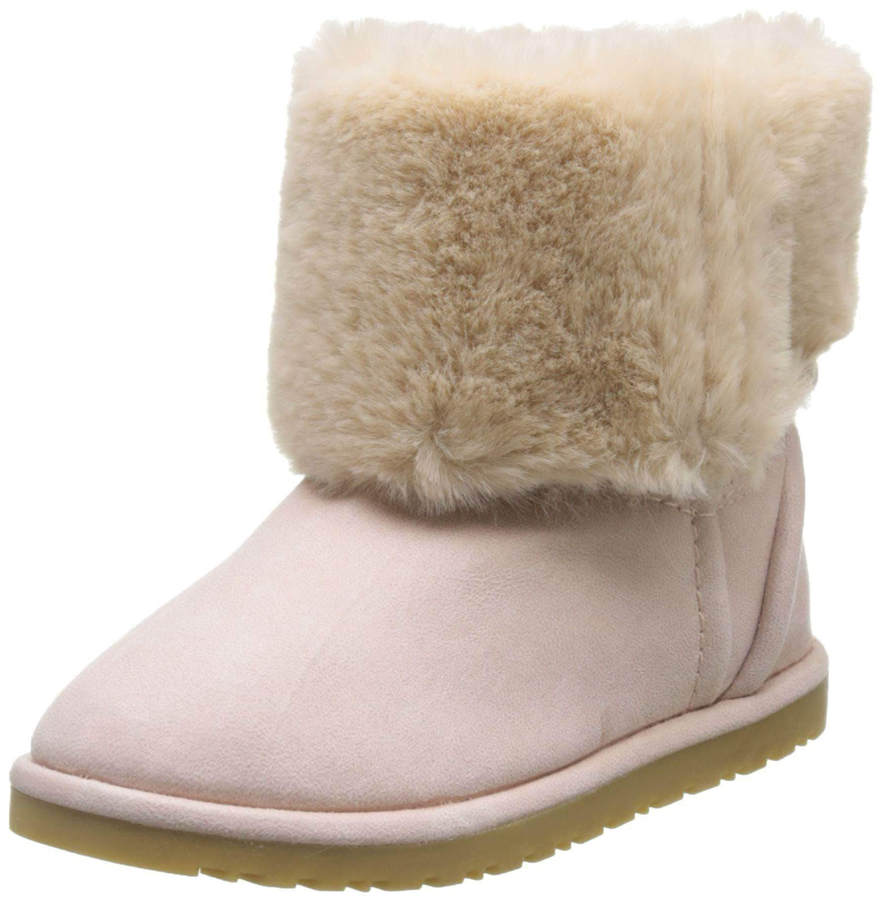 Amazon Zippy Botas Slouch ZY Niña, Niñas, Rosa (Crystal Rose 12-1708 3111), 29 EU
