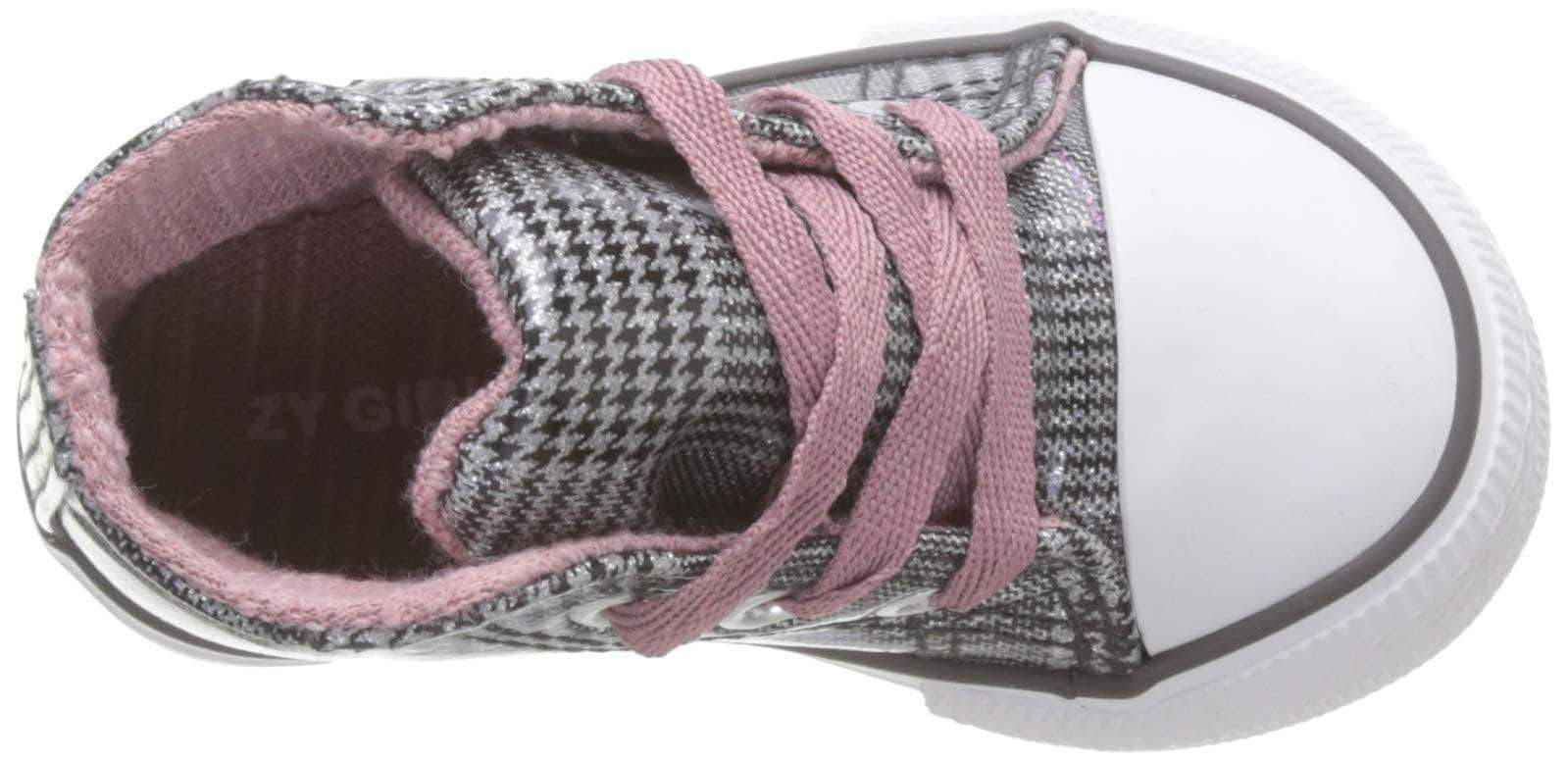 Amazon Zippy Estampadas, Zapatillas de Estar por casa para Bebés, Gris (Grey 860), 23 EU