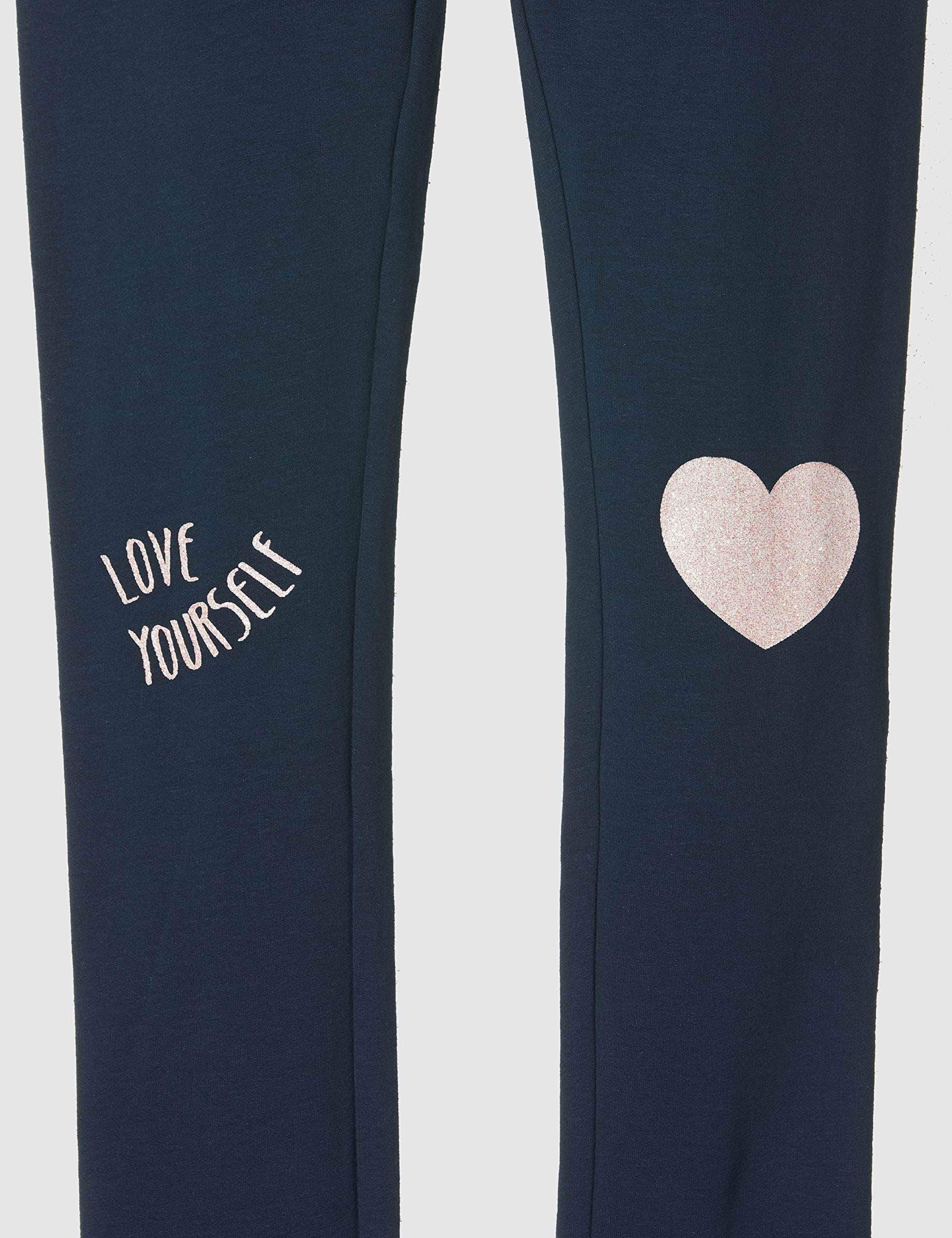 Amazon ZIPPY Leggings Estampados, Azul (Dress Blue 19/4024 TC 185), 7 años (Tamaño del Fabricante:6/7) para Niñas