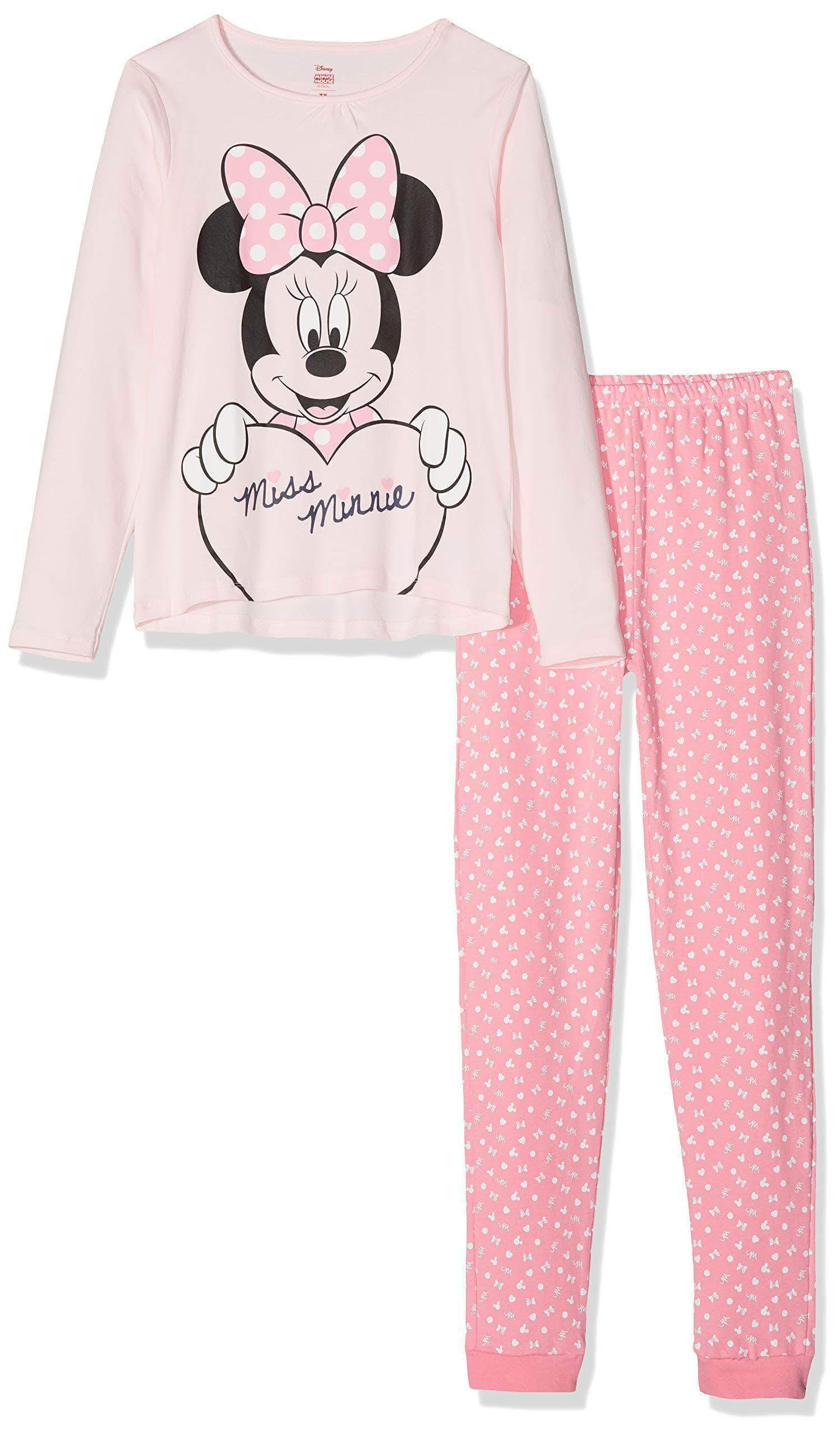 Amazon ZIPPY Miss Minnie Conjuntos de Pijama, Multicolor (Mixed 1158), 9 años (Tamaño del Fabricante:8/9) para Niñas
