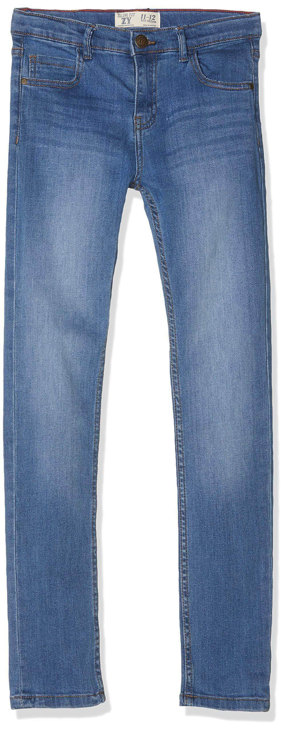 Amazon ZIPPY Pantalones Vaqueros, Azul (Light Blue Denim 2564), 12 años (Tamaño del Fabricante: 11/12) para Niños