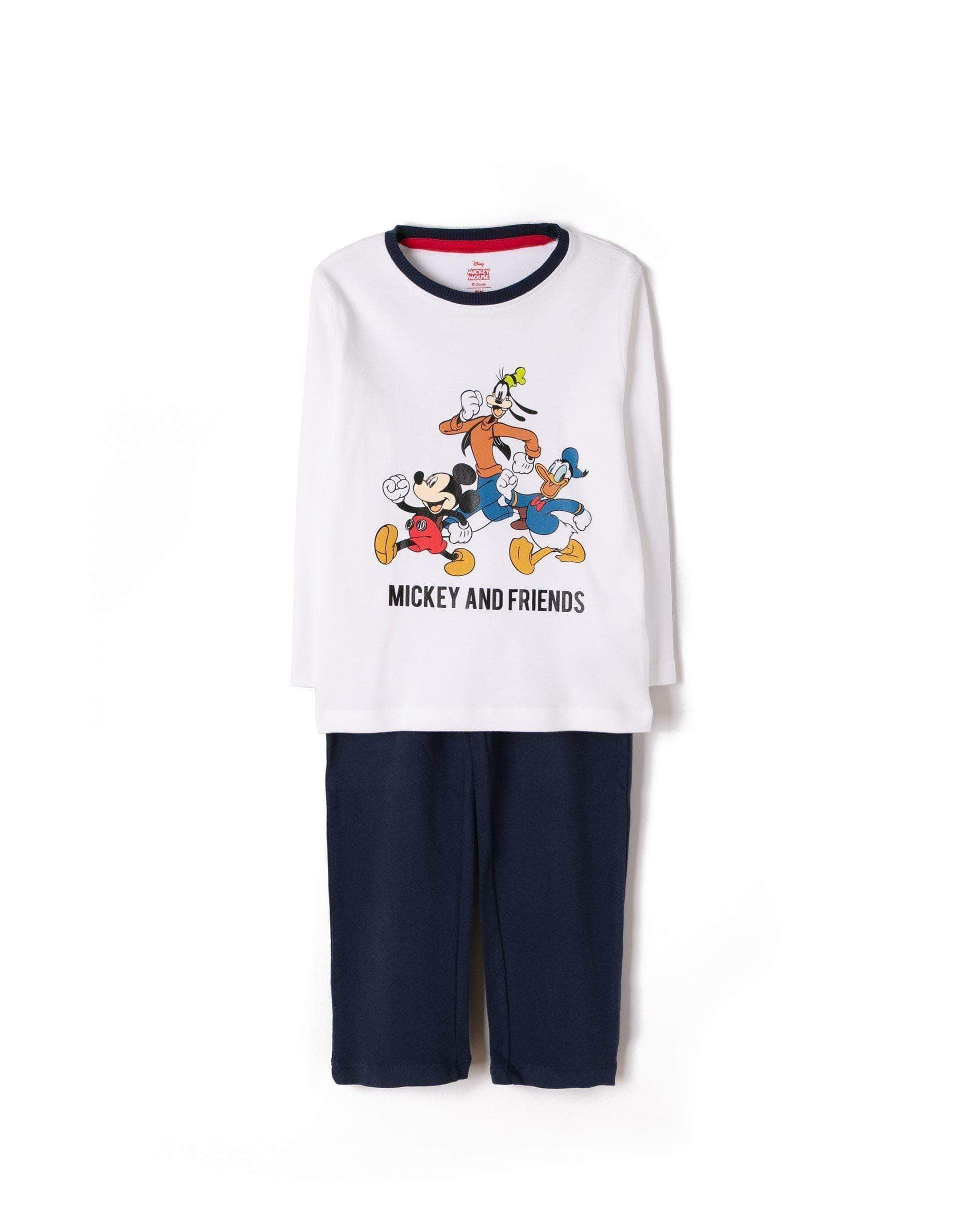 Amazon ZIPPY Pijama Mickey and Friends Conjuntos, Multicolor (Mixed 1158), 5 años (Tamaño del Fabricante:4/5) para Niños