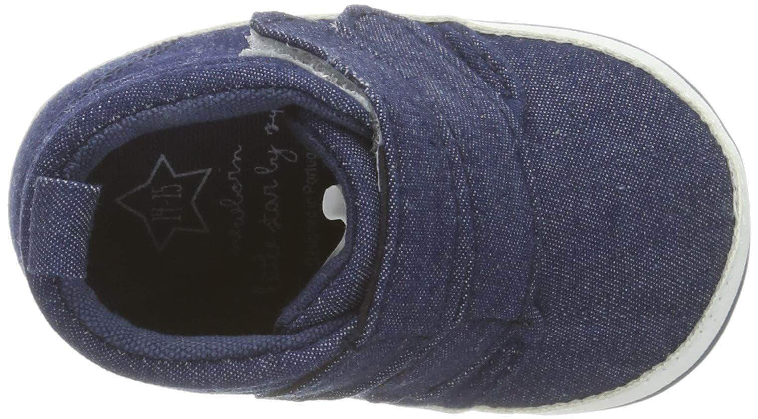 Amazon Zippy Zapatillas Bebé Cano Alto, Zapatos Bebés, Azul (Chambray Blue 15-4030 TC 3164), 16/17 EU