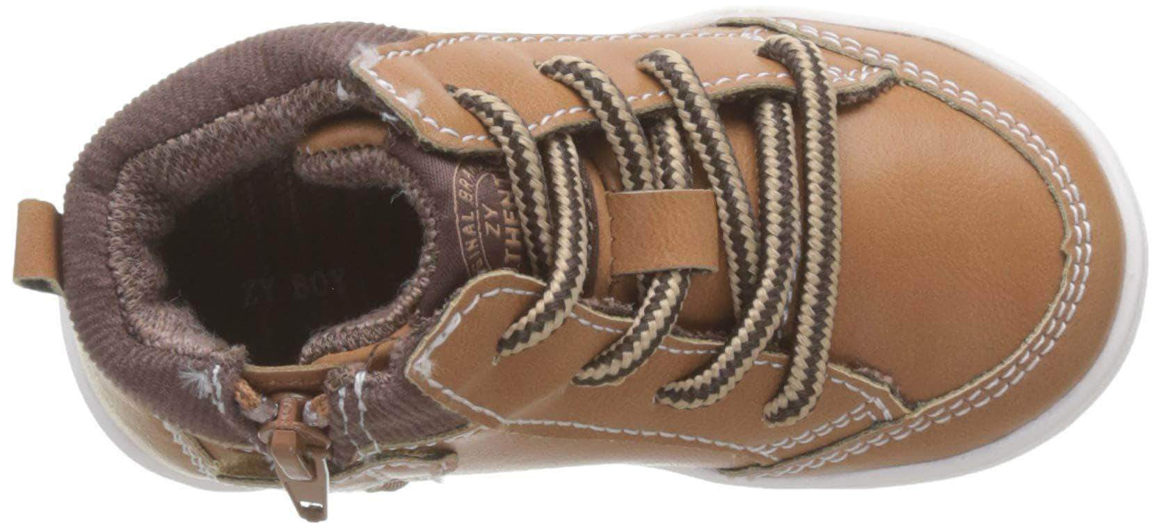Amazon Zippy Zapatillas Bota, Botas para Bebés, Beige (Camel 82), 21 EU