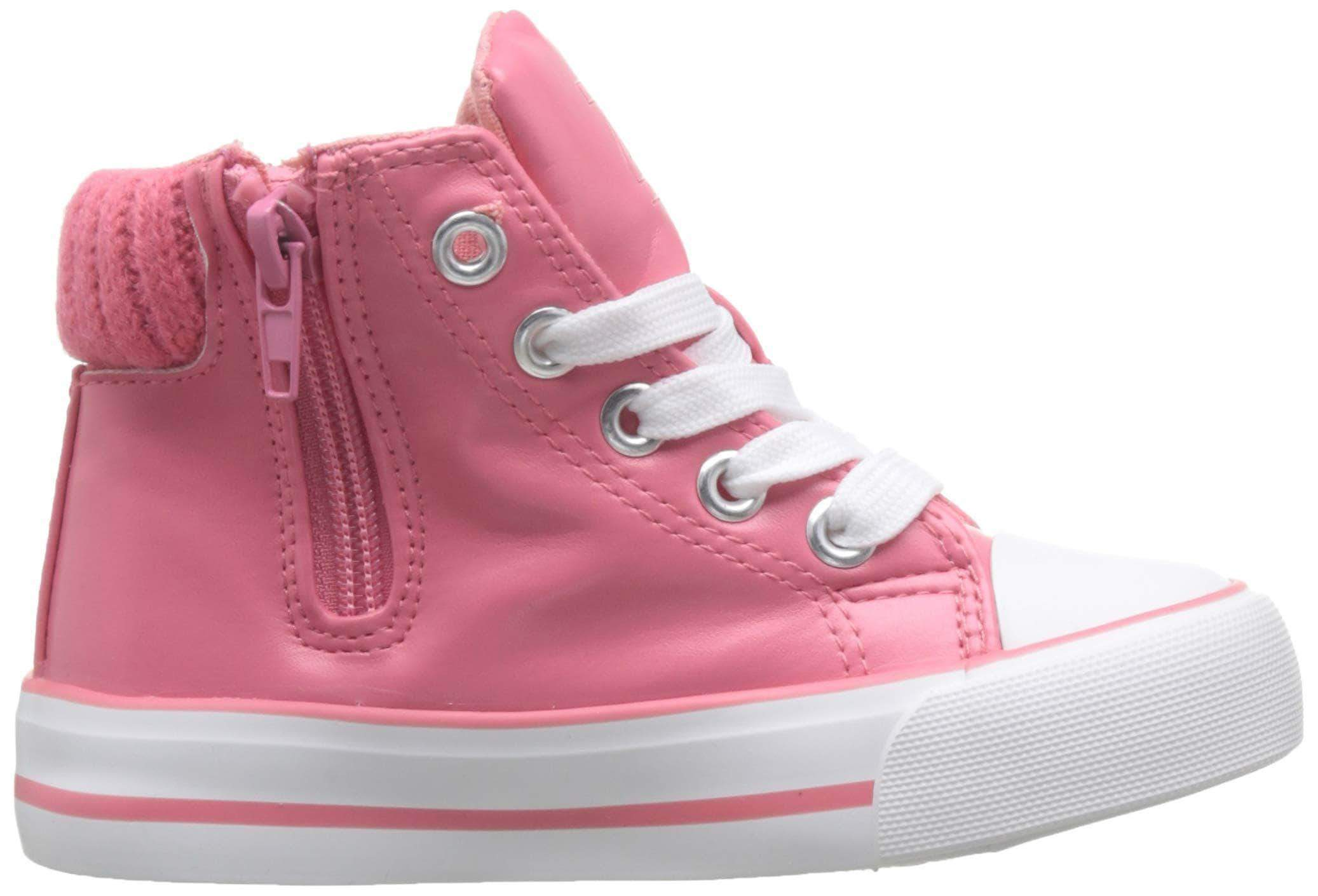 Amazon Zippy Zapatillas De Caña Alta, Altas para Niñas, Rosa (Bubblegum 17-1928 TC 517), 27 EU