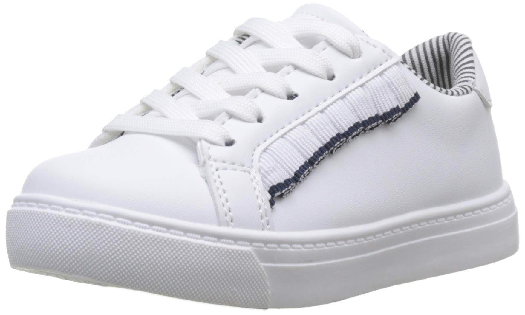 Amazon Zippy Zapatillas Frills, Niñas, Blanco (White 1178), 32 EU