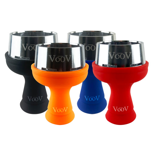 VooV Silicone Hookah Bowl with Windguard