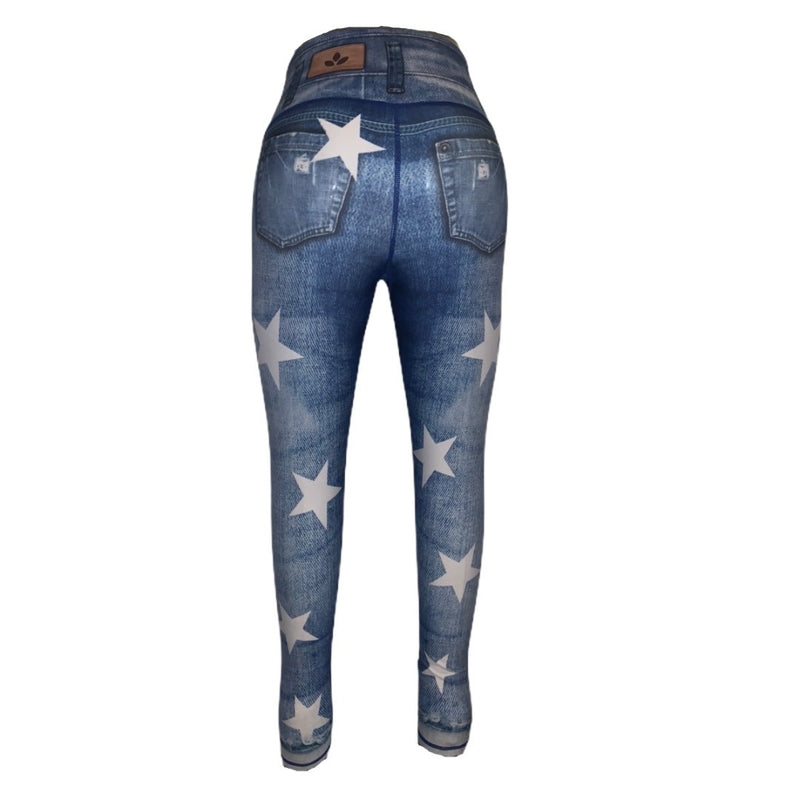 Stella Stars Jeggings-Alina and the Sea