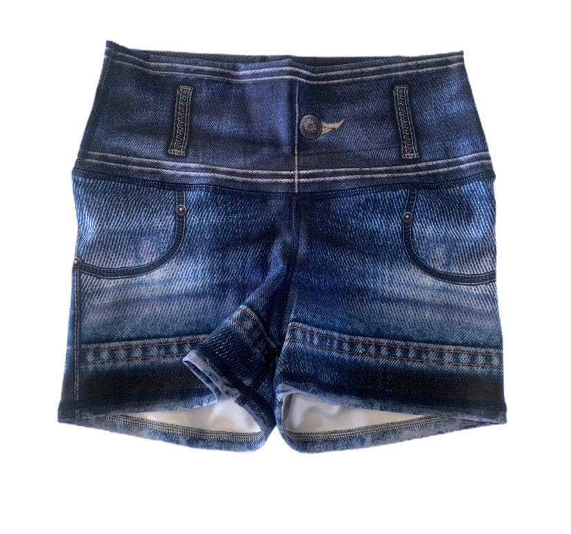Basic Jeans Shorts-Alina and the Sea