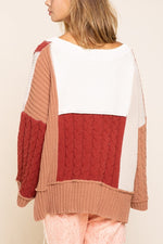 ALMOND RUST SWEATER-Jacket-Alina and the Sea