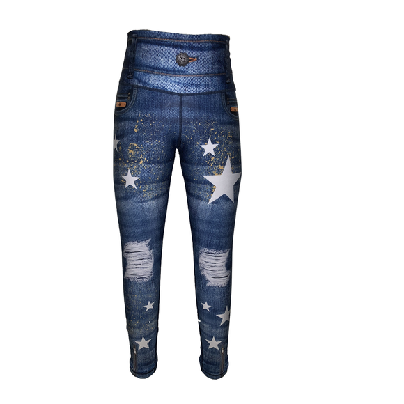 Stars Jeans Jeggings-Bottoms-Alina and the Sea