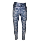 Sky Blue Camo Jeggings-Alina and the Sea