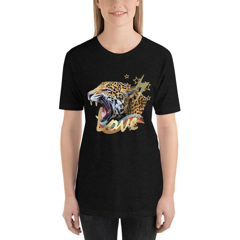 Love Tiger Short-Sleeve Eco-Friendly T-Shirt-Alina and the Sea