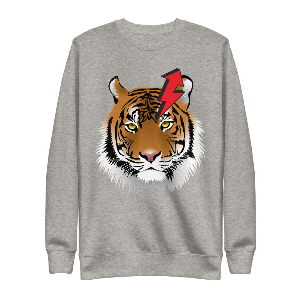 Tiger Eco-Friendly Unisex Fleece Pullover-Alina and the Sea