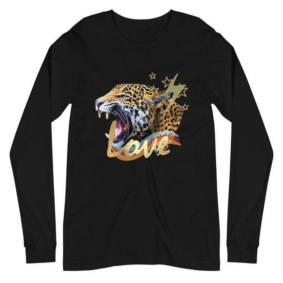 Tiger Love Eco-Friendly Long Sleeve Tee-Alina and the Sea