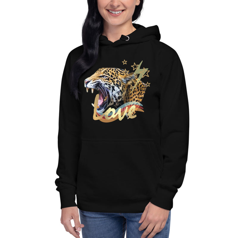 Love Tiger Hoodie-Alina and the Sea