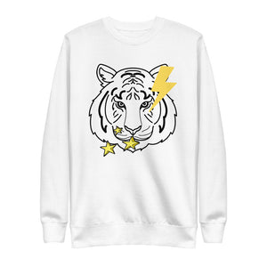 Stars Tiger Eco-Friendly Unisex Fleece Pullover-Alina and the Sea