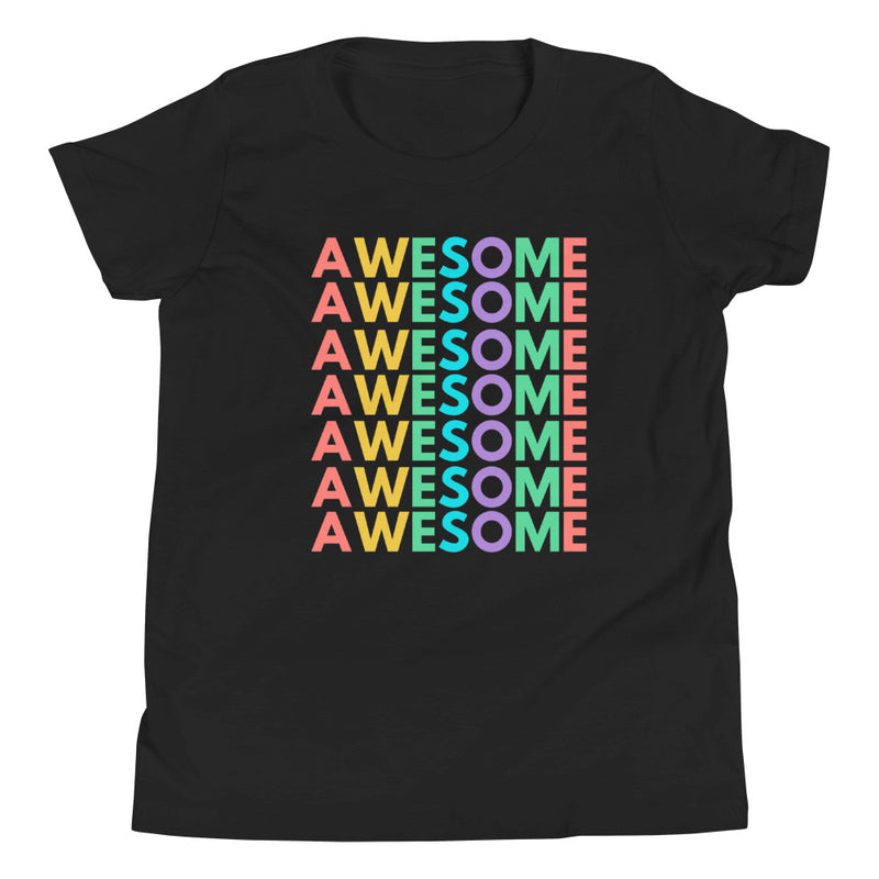 Awesome Girls & Boys Short Sleeve T-Shirt-Alina and the Sea