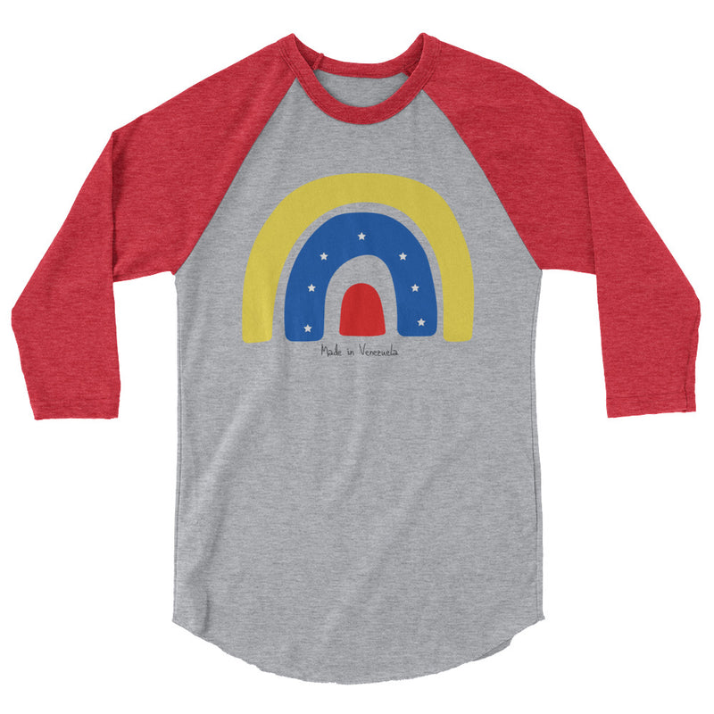 Made in Venezuela 3/4 sleeve raglan shirt-Alina and the Sea
