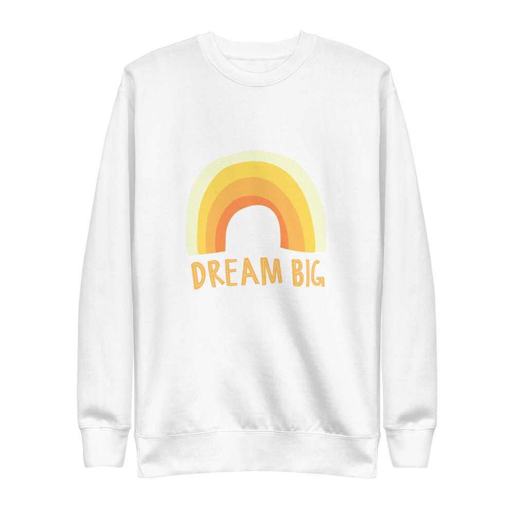 Dream Big Eco-Friendly Unisex Fleece Pullover-Alina and the Sea