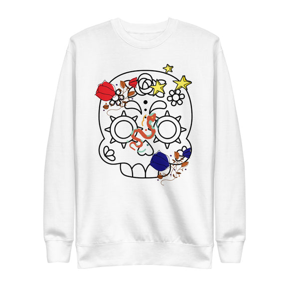 Catrina Eco-Friendly Unisex Fleece Pullover-Alina and the Sea
