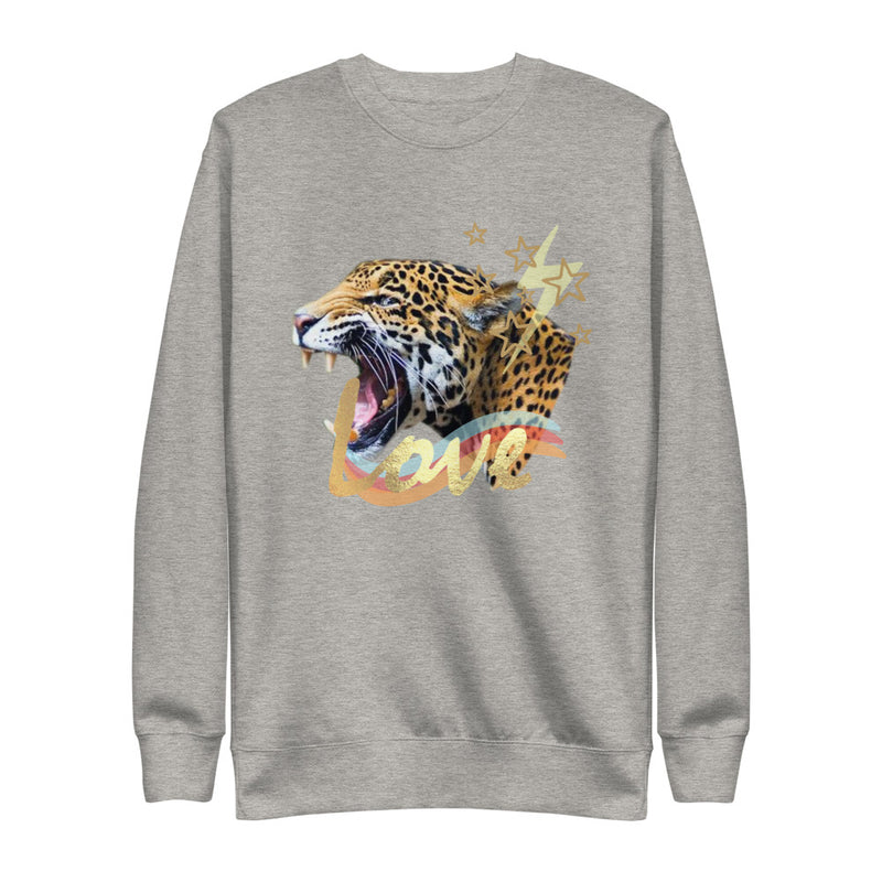 Love Tiger Eco-Friendly Fleece Pullover-Alina and the Sea