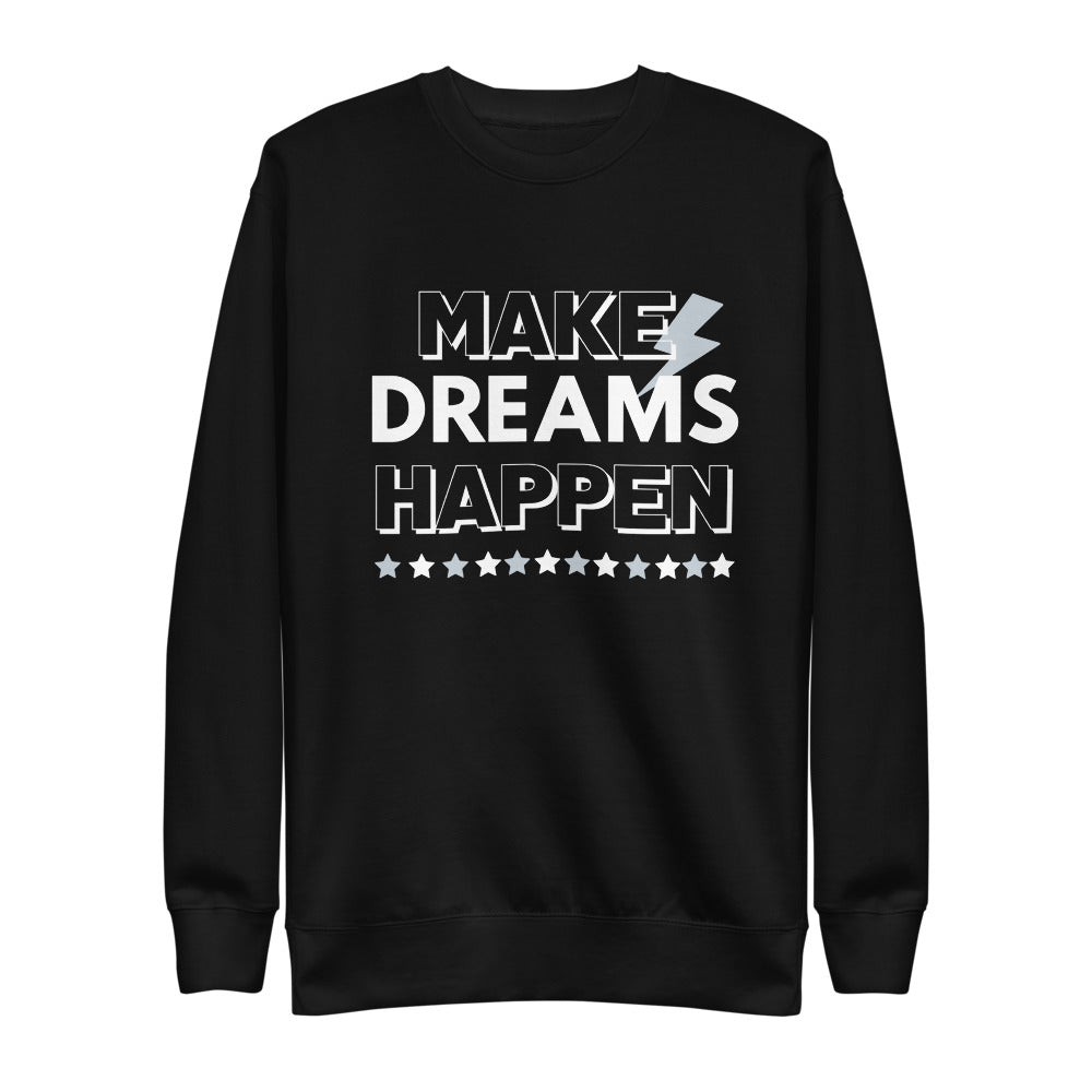 Dreams Gray Eco-Friendly Unisex Fleece Pullover-Alina and the Sea