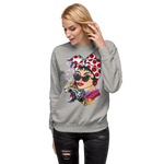Pan Unisex Fleece Pullover-Alina and the Sea