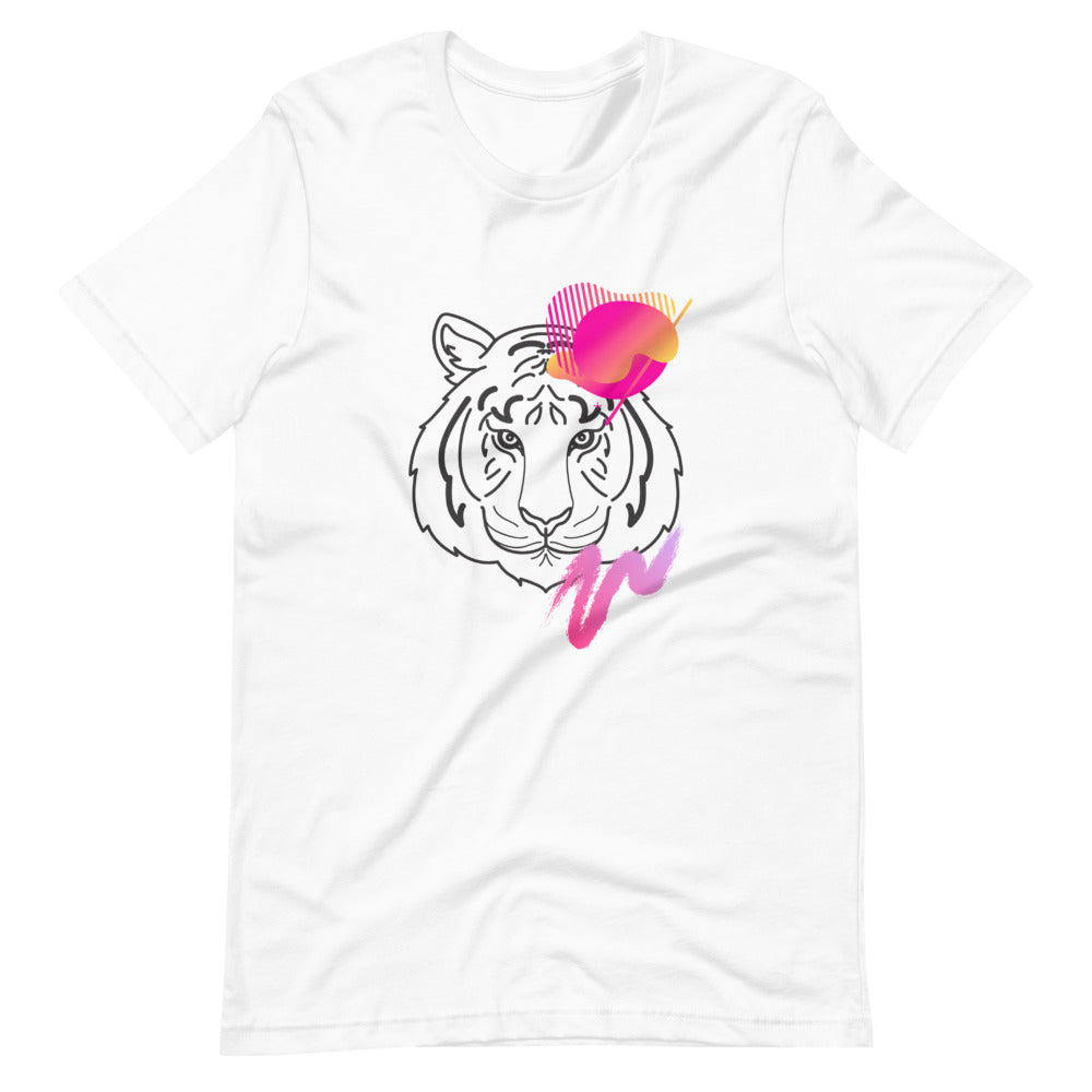 Pink Tiger Eco-Friendly T-Shirt-Alina and the Sea