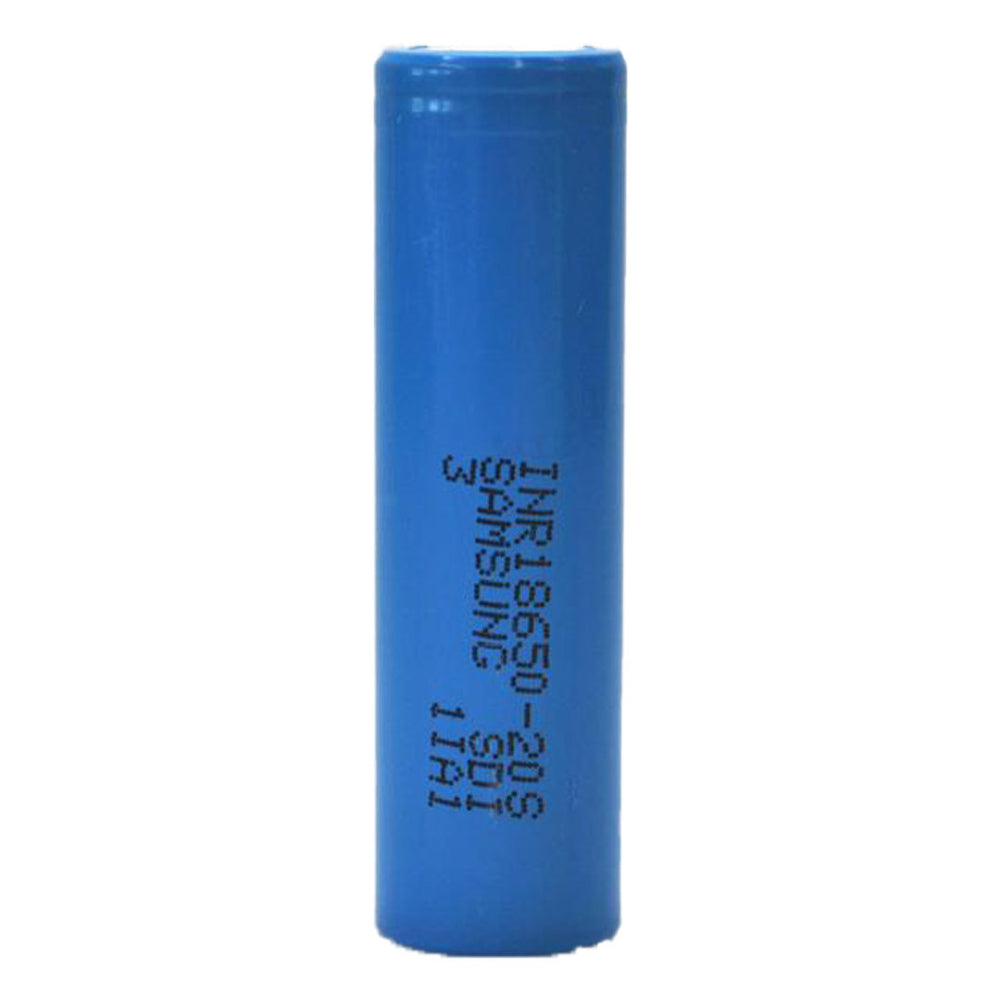 Samsung - 20S 18650 2000mAh 30A Flat Top Blue Battery
