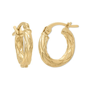crown-gold - Earrings