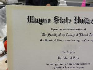 The Truth about Your College Store Diploma Frame
