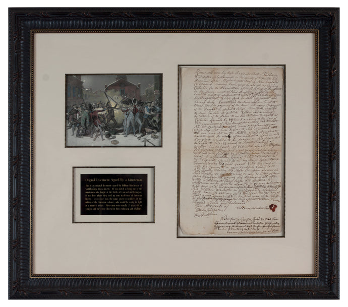 Minuteman signed document