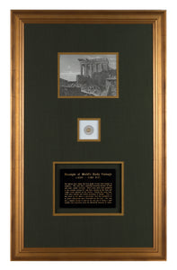 Ancient Coin framed