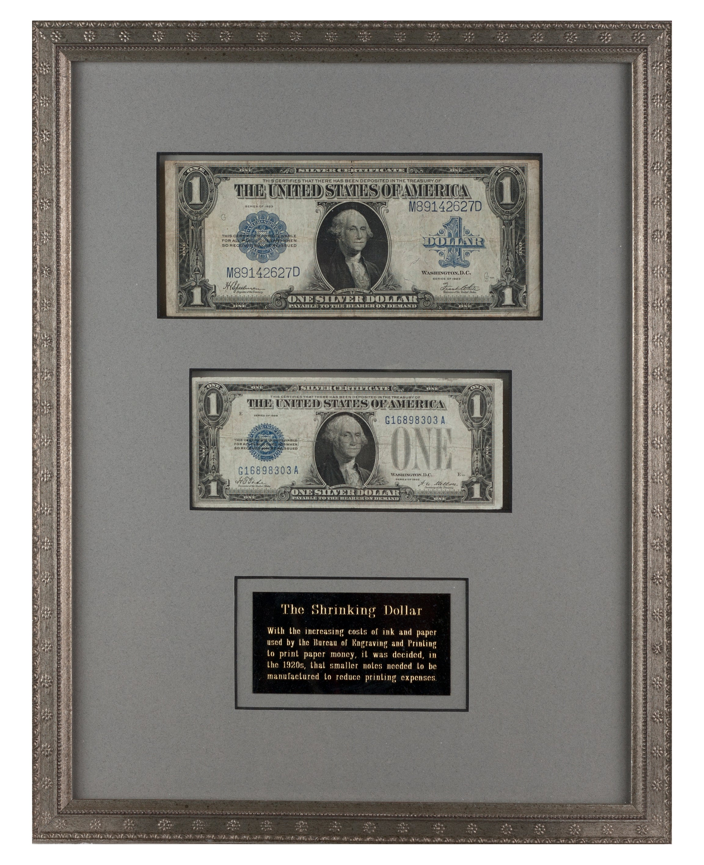 Framed Currency