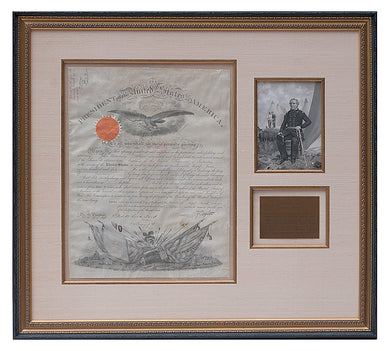 Zachary Taylor signed Military Document