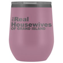 Load image into Gallery viewer, The Real Housewives of Grand Island Wine Tumbler Free Shipping