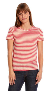 Striped Classic Tee Free Shipping