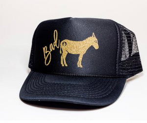 Bad Ass Trucker Hat with Free Shipping