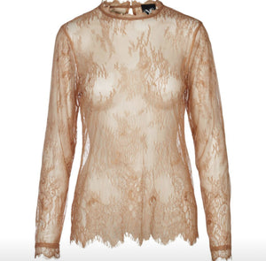 NU Denmark Copper Lace Shirt Free Shipping