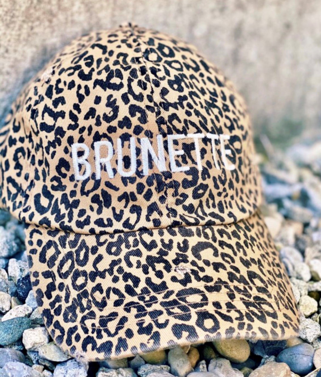Cheetah Brunette Hat with Free Shipping