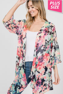 Floral Kimono with Free Shipping