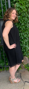 Black Tank Dress Free Shipping