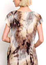 Load image into Gallery viewer, Pleated Tie Dye Dress with Pockets & Free Shipping