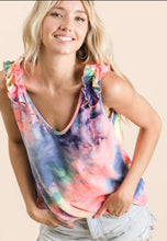 Load image into Gallery viewer, Tie Dye Tank with Free Shipping