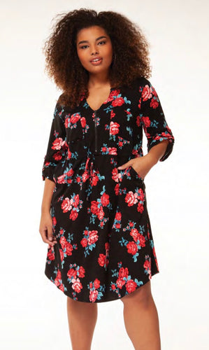 Floral Dress with Free Shipping