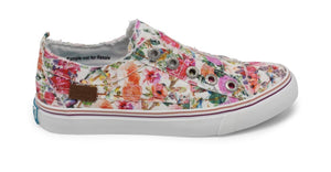 Flowerfest Canvas Sneaker Free Shipping