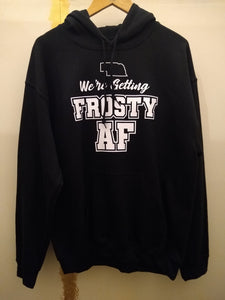 Frost AF Hooded Sweatshirt with Free Shipping
