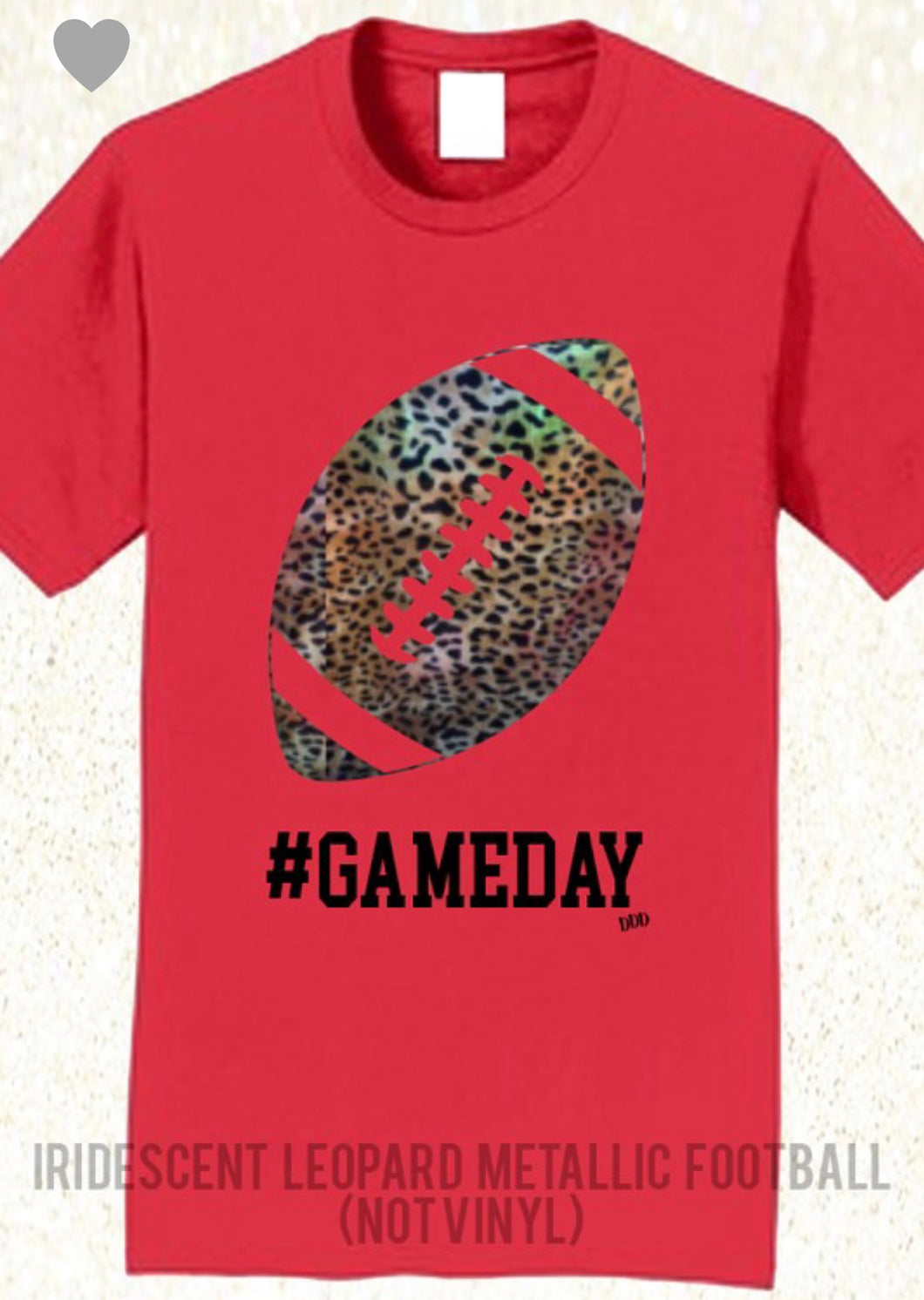 Leopard #gameday Tee free shipping