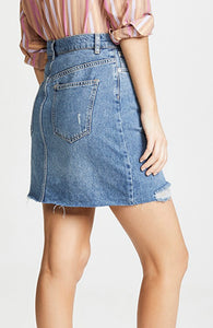 Hallie denim skirt Free Shipping